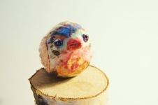 bird ceramic figurine