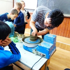 Ceramic class / Roata / Pottery wheel